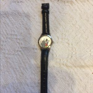 Limited edition Mickey Mouse watch with castle